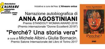 "Narrazione autobiografica di Anna Agostiniani ""Perché? Una storia vera"""